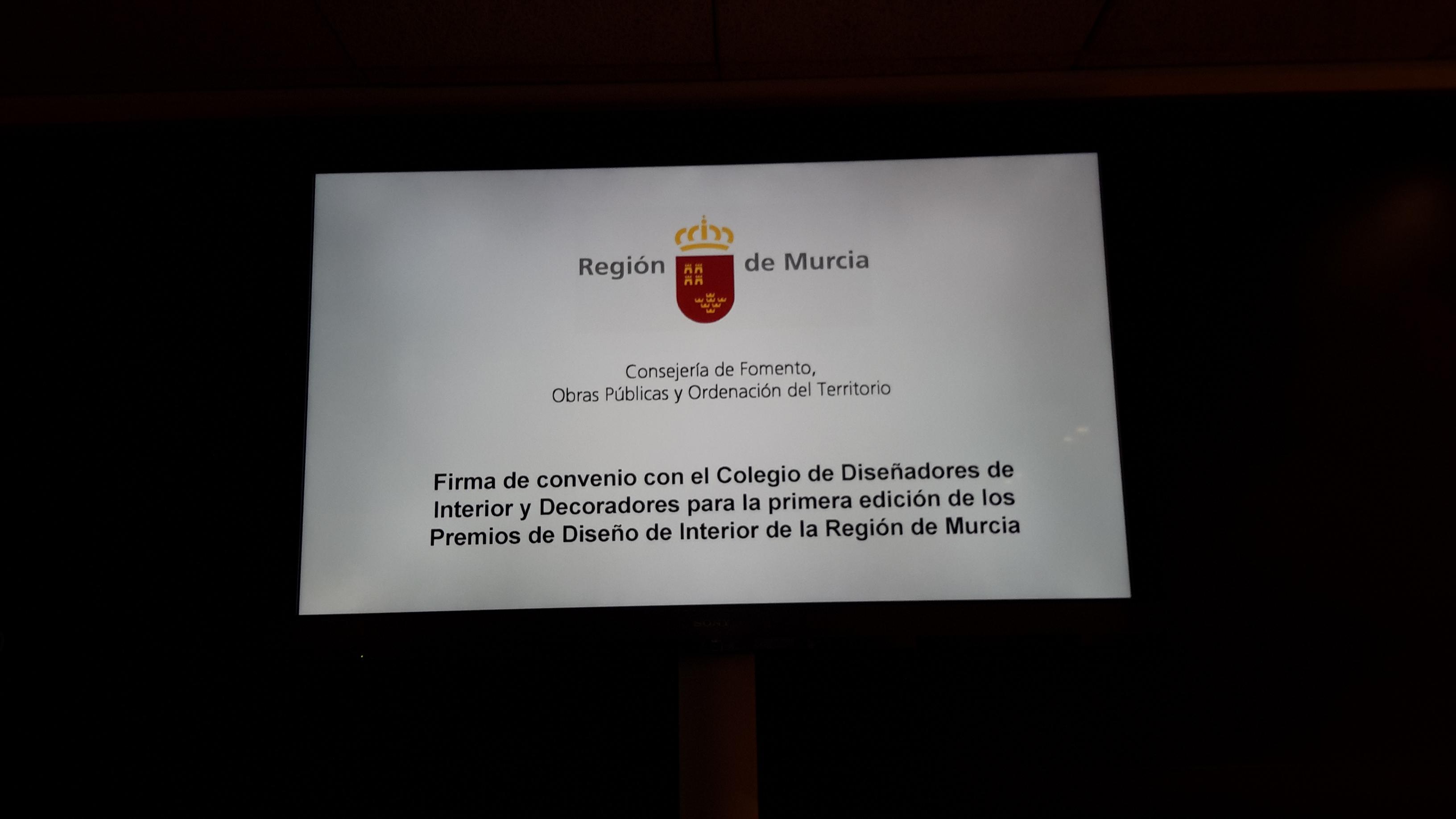 Imagen 1 SE FIRMÓ EL CONVENIO PARA LA ORGANIZACIÓN DE LOS PREMIOS REGIONALES DE DISEÑO DE INTERIOR.