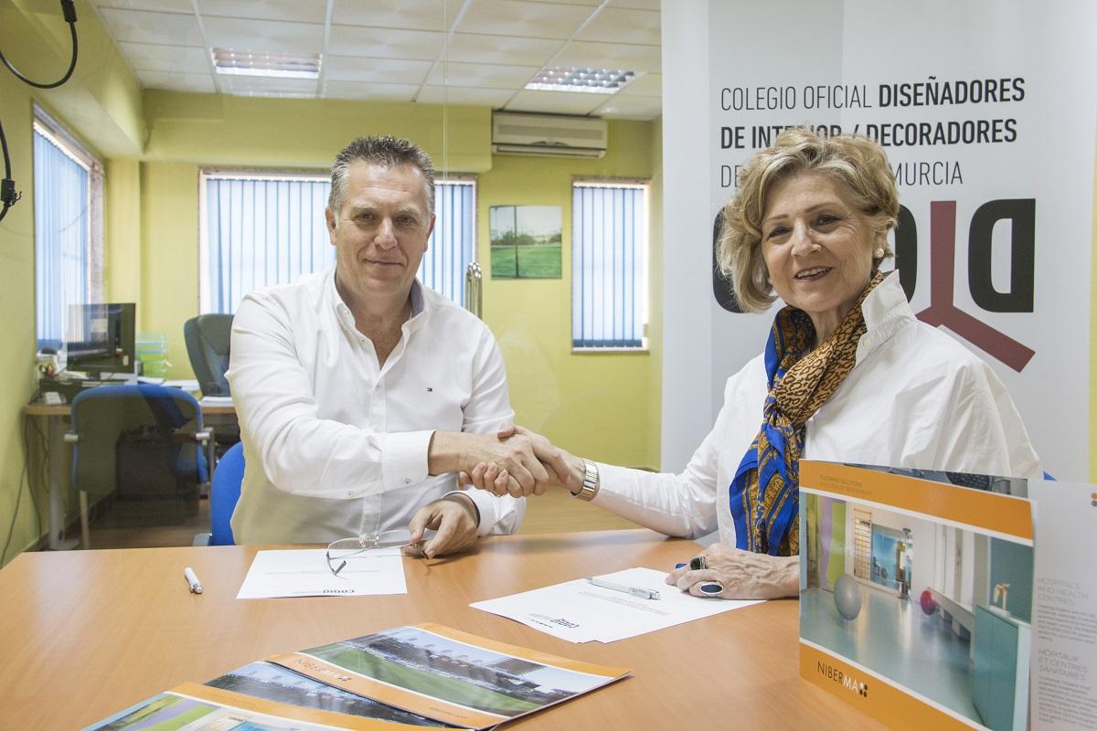 Imagen 1 El CODID y Grupo Niberma refuerzan su unión para impulsar el diseño de interior en la Región