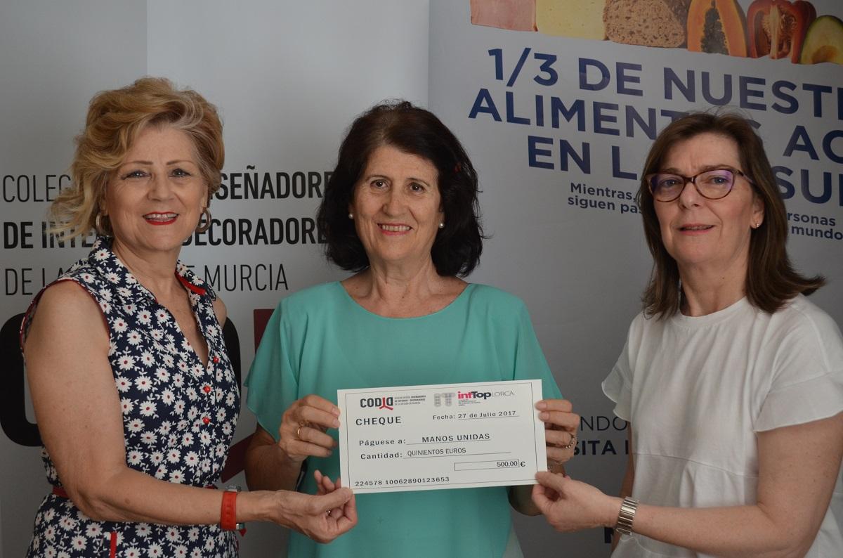 Imagen 1 IntTop se solidariza con Manos Unidas Murcia