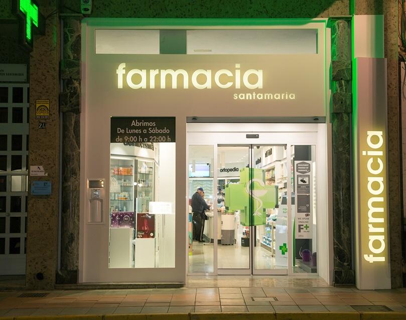 Imagen 1 El diseño de interior, detrás del cambio de imagen de la farmacia Santamaría, en Águilas