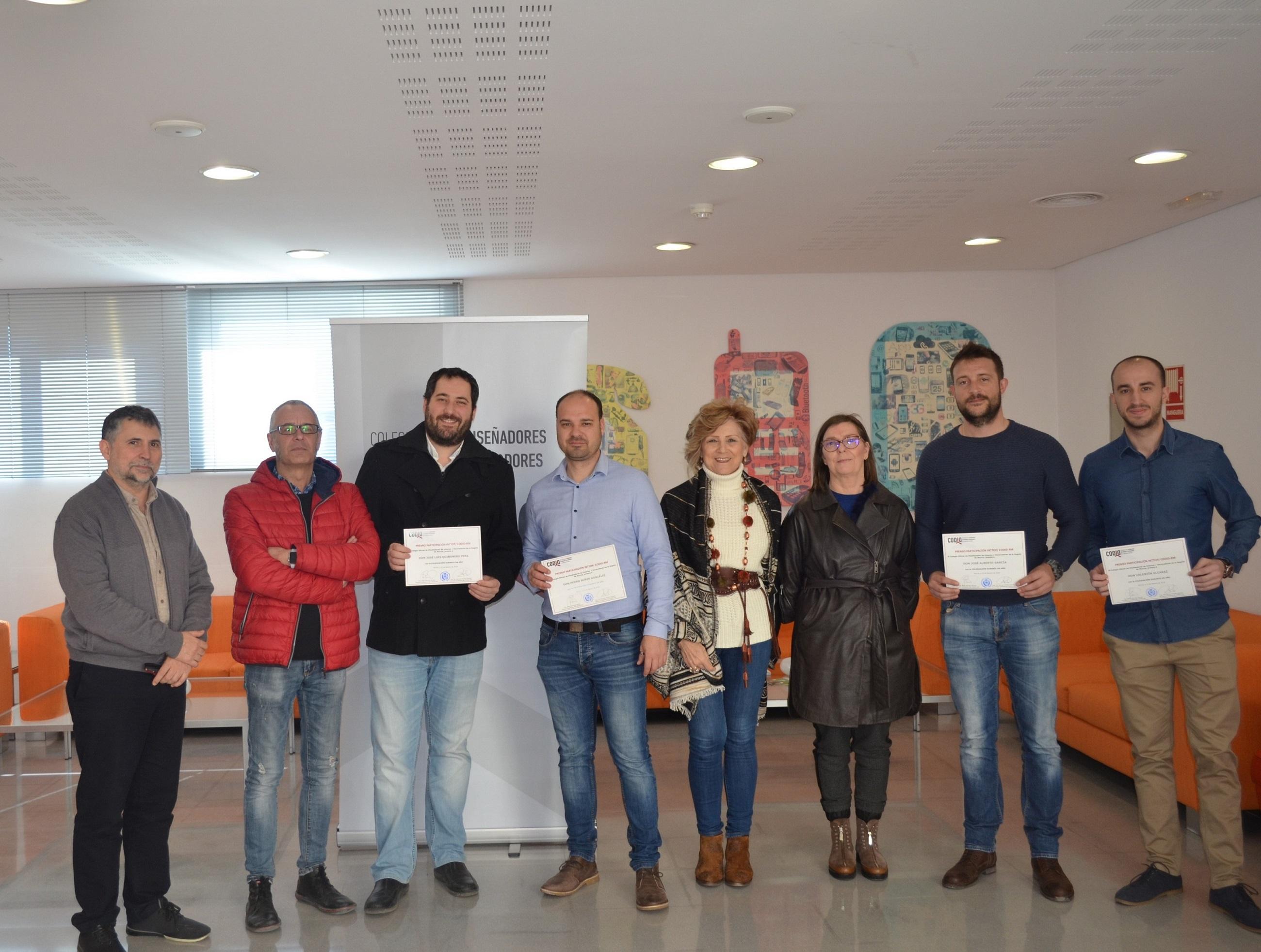 Imagen 1 El CODID-RM entrega el Premio IntTop a los estudiantes de la Escuela Superior de Diseño de Murcia