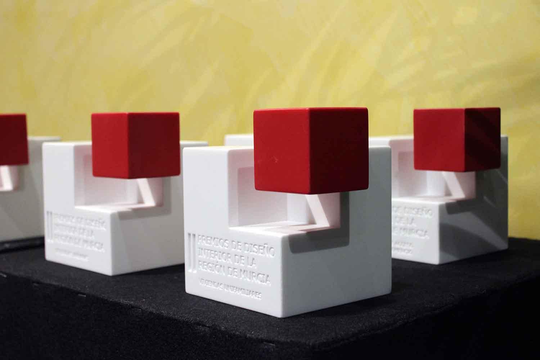 Gala de entrega de los II Premios de Diseño de Interior de la Región de Murcia
